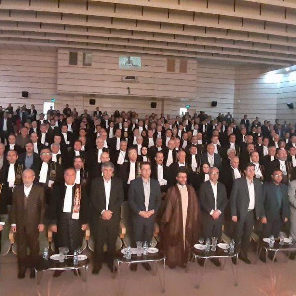 مشروح افتتاحیه سی و سومین همایش سراسری اتحادیه کانونهای وکلای دادگستری ایران