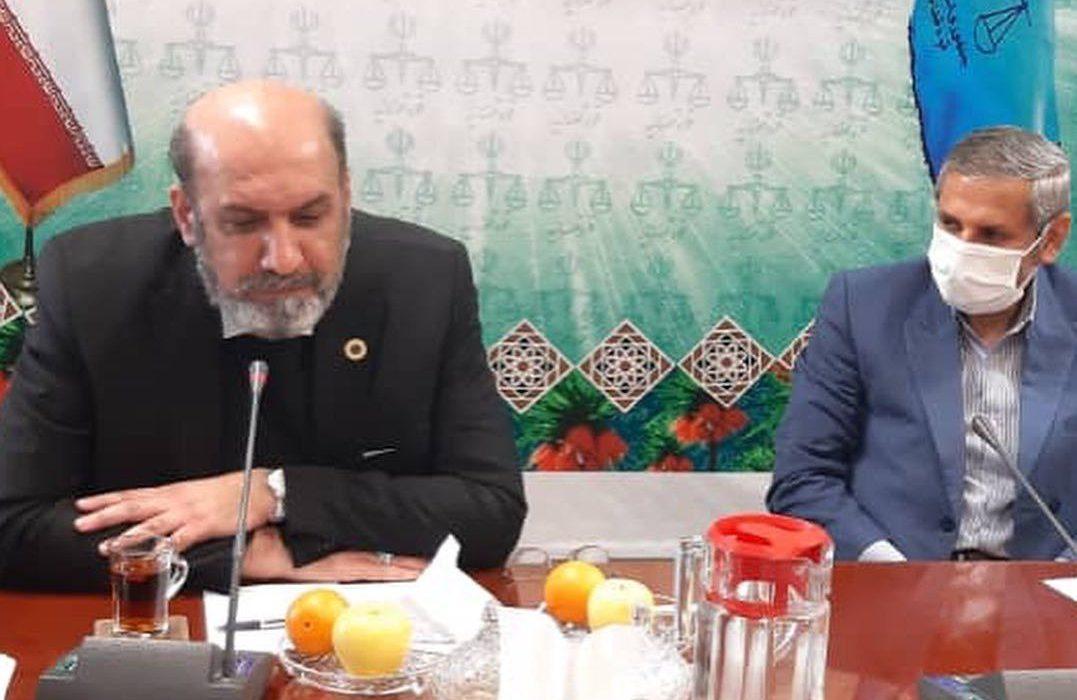 دیدار با رئیس کل دادگستری و مقامات قضائی استان چارمحال و بختیاری