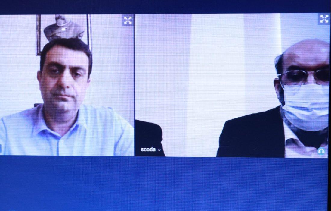 گزارش نشست دکتر جعفر کوشا با رییس اتحادیه کانونهای وکلای گرجستان