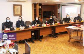 گزارش تصویری اولین نشست هماندیشی دبیرخانه ملی منع خشونت علیه زنان چهارشنبه مورخ ۱۳۹۹/۱۱/۲۹