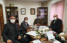 گزارش تصویری اولین جلسه هیئت رئیسه اتحادیه و بازرسان در مورخه ۹۹/۸/۲۸ با حضور جناب آقای دکتر کوشا ریاست محترم اتحادیه