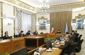 دیدار هیات رئیسه اتحادیه کانون های وکلای دادگستری و برخی از روسای کانون های وکلای دادگستری با رئیس قوه قضاییه