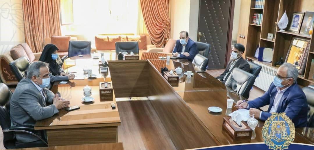 دیدار رئیس و نایب رئیس کانون وکلای دادگستری یزد با مدیرکل سازمان بهزیستی استان
